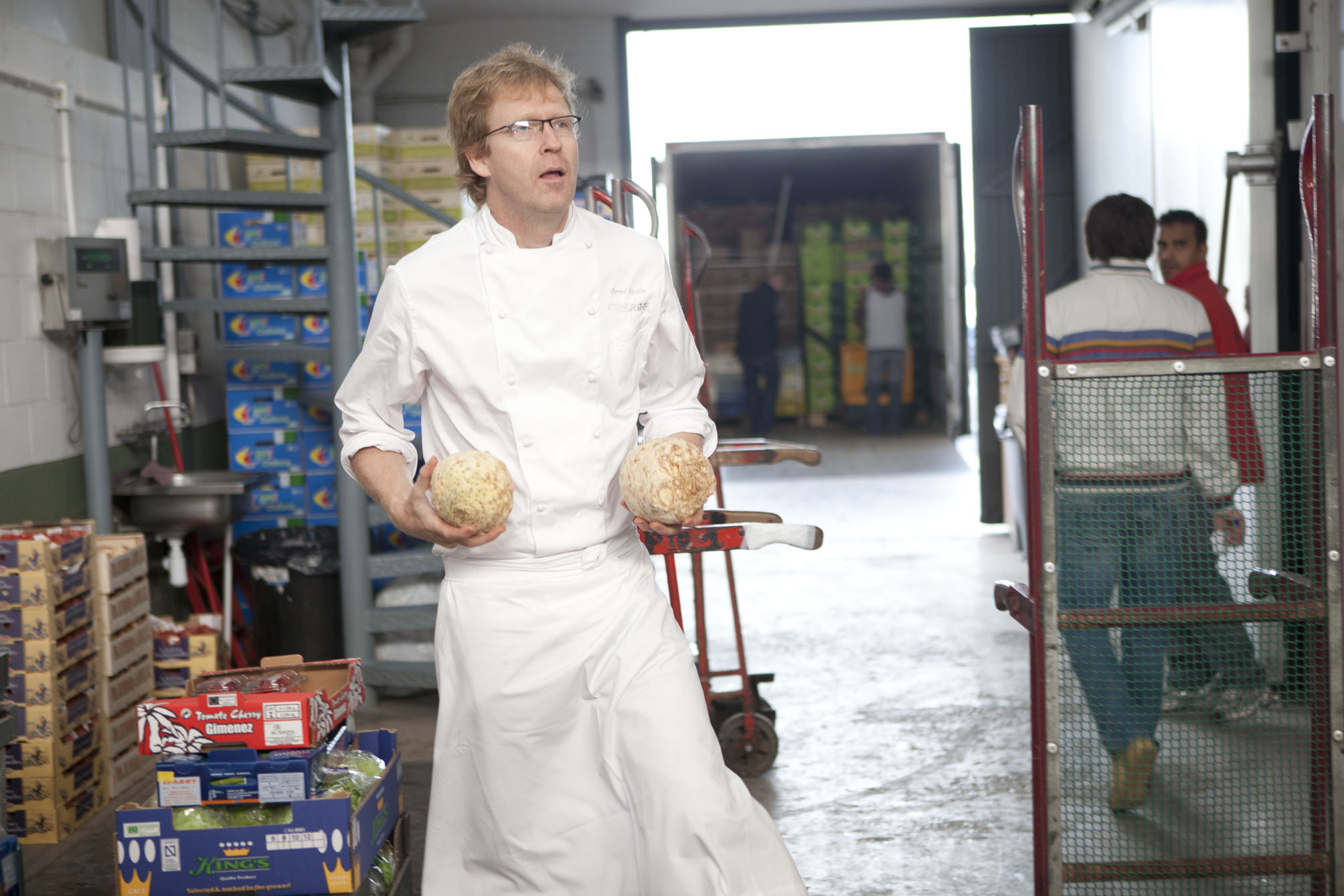 Bernd knoller Restaurante Riff