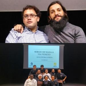 Sergio Humada y Pablo Márquez