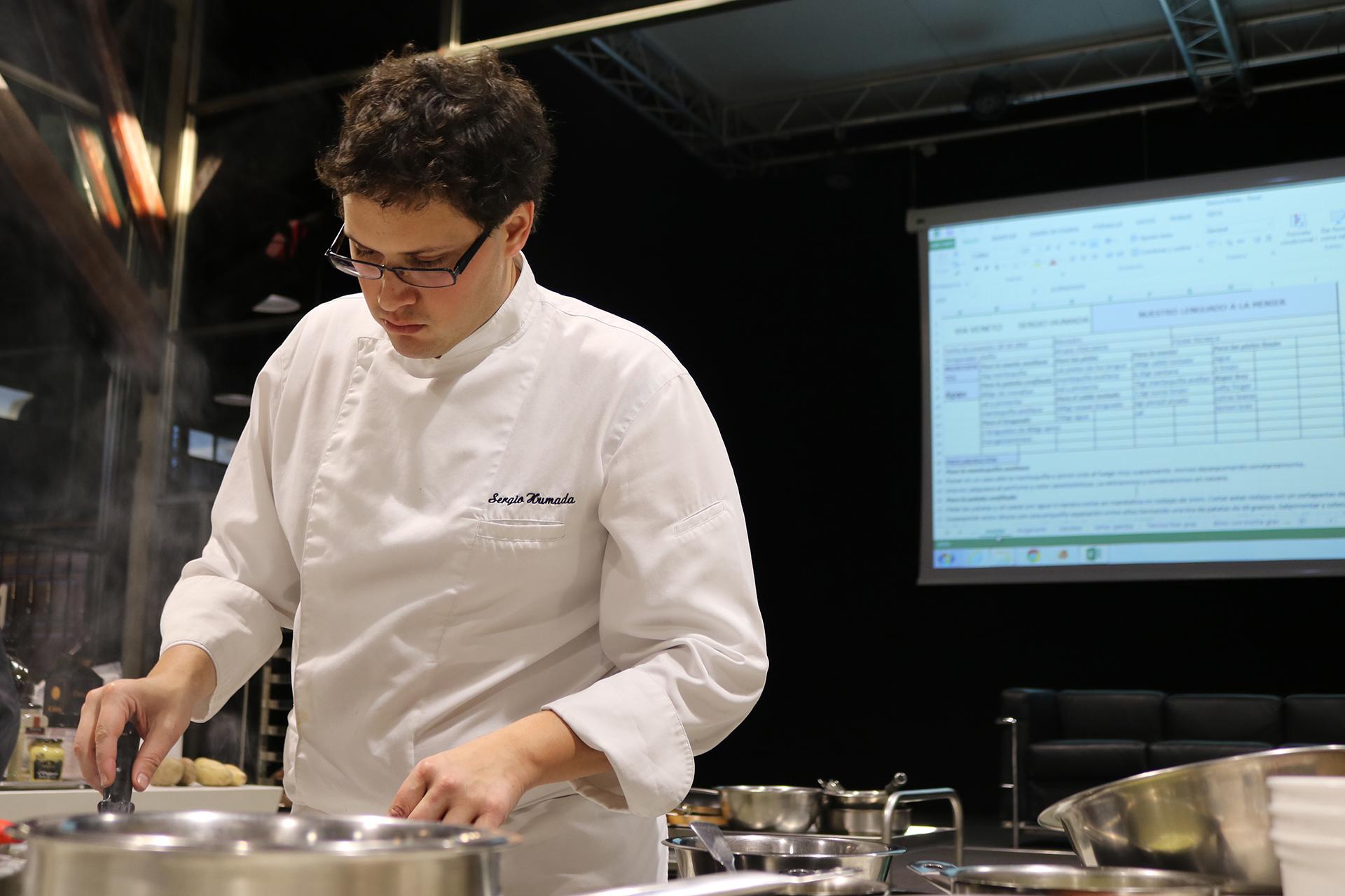 Sergio Cocina   Sergio Humada Sangre Fresca En La Alta Cocina Gasma