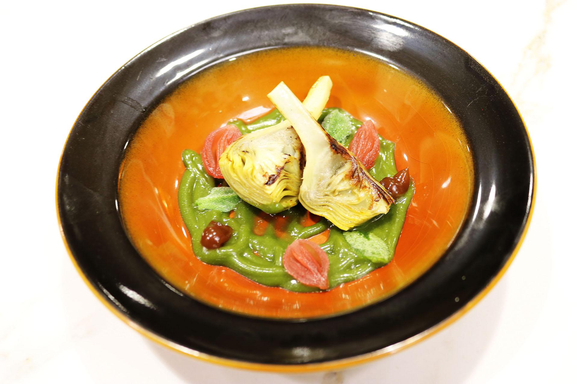 Tu paladar nuestros colores alta cocina y arte se dan la for Cocinar a 80 grados