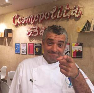 Dani Carnero en La Cosmopolita