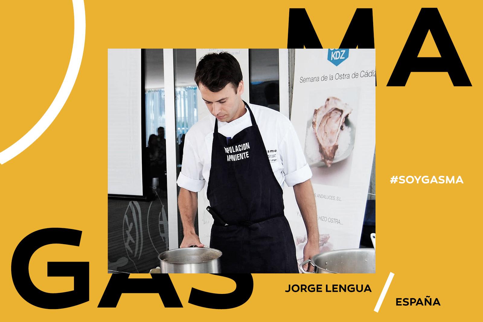 Jorge Lengua, alumni de Gasma