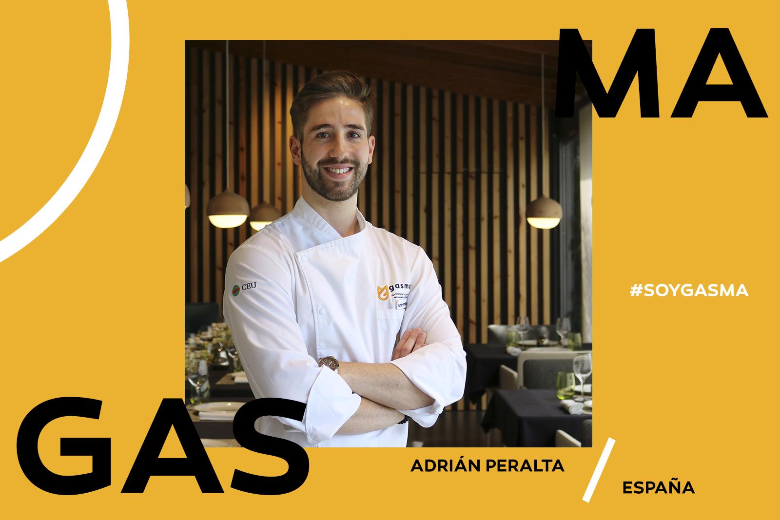 Adrián Peralta alumni Gasma