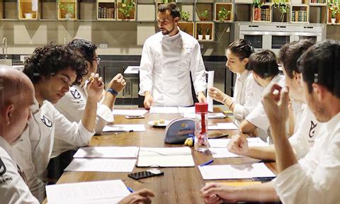 Alumnos de Grado en Gastronomía