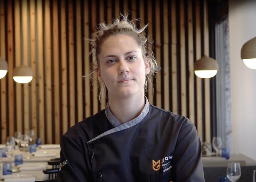 Giorgia Cantarini, alumna de Máster en Gastronomía