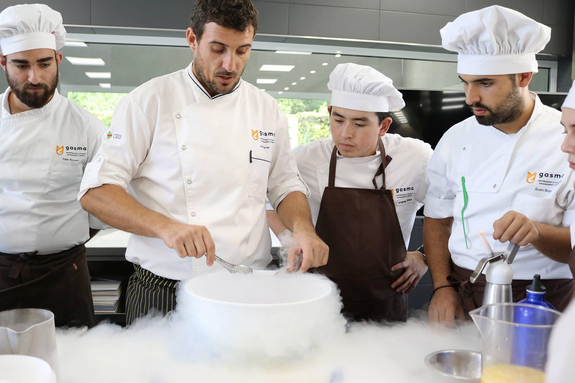 Ranking de Universidades: El Grado en Gastronomía de Gasma – UCH-CEU escala hasta el número 1
