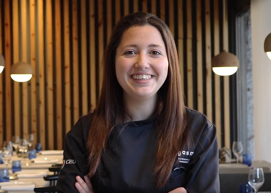 Federica Mazzocchetti, alumna de Máster en Gastronomía