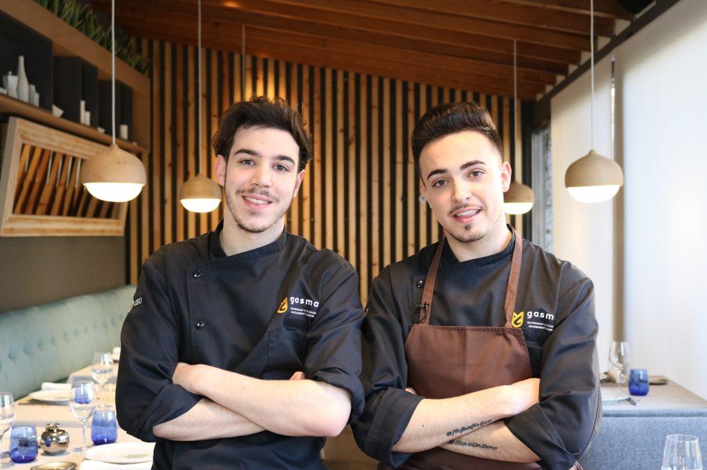 Juan Sahuqillo y Javi Sanz, alumni del Máster en Gastronomía de Gasma