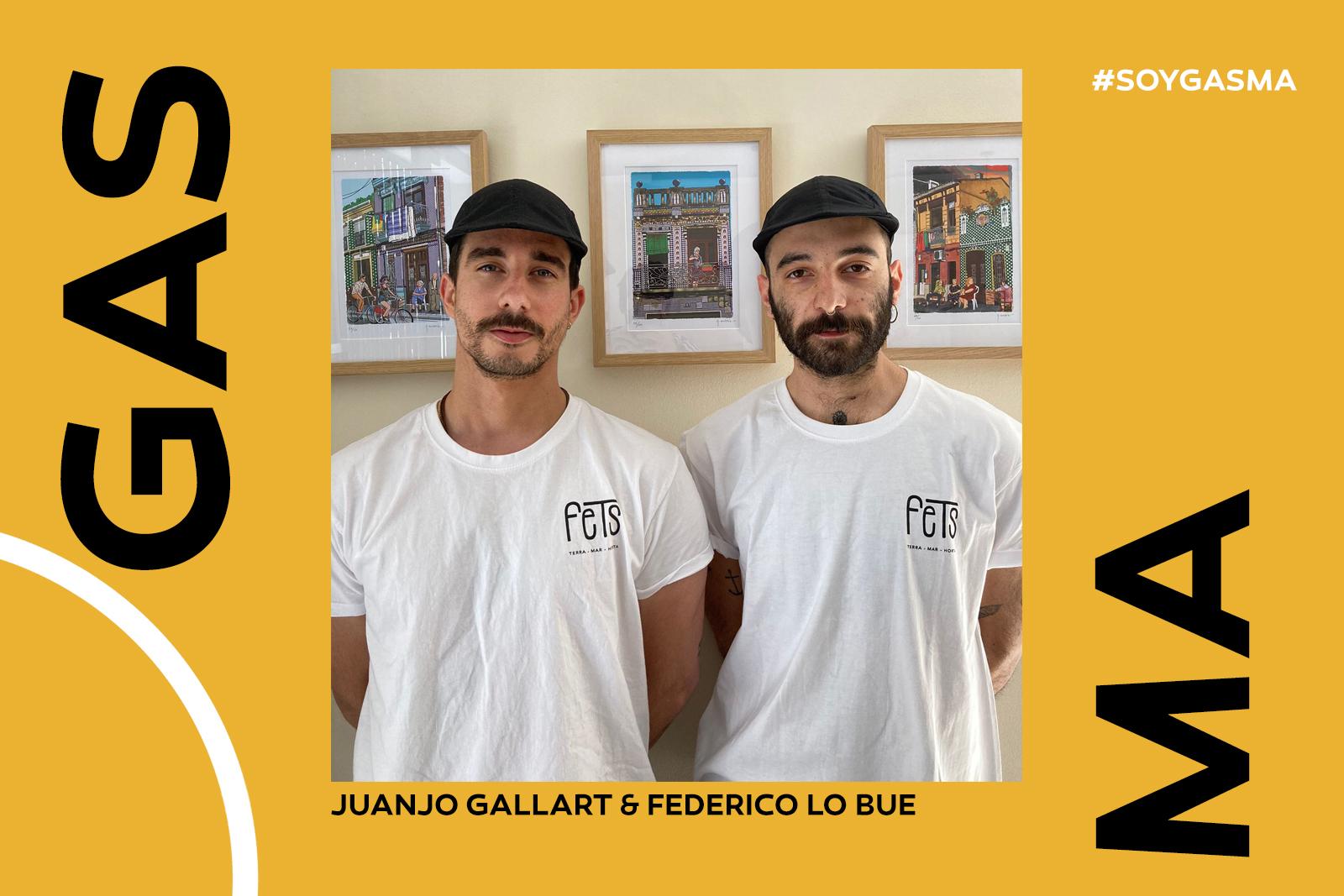 Juanjo Gallart y Federico Lo Bue