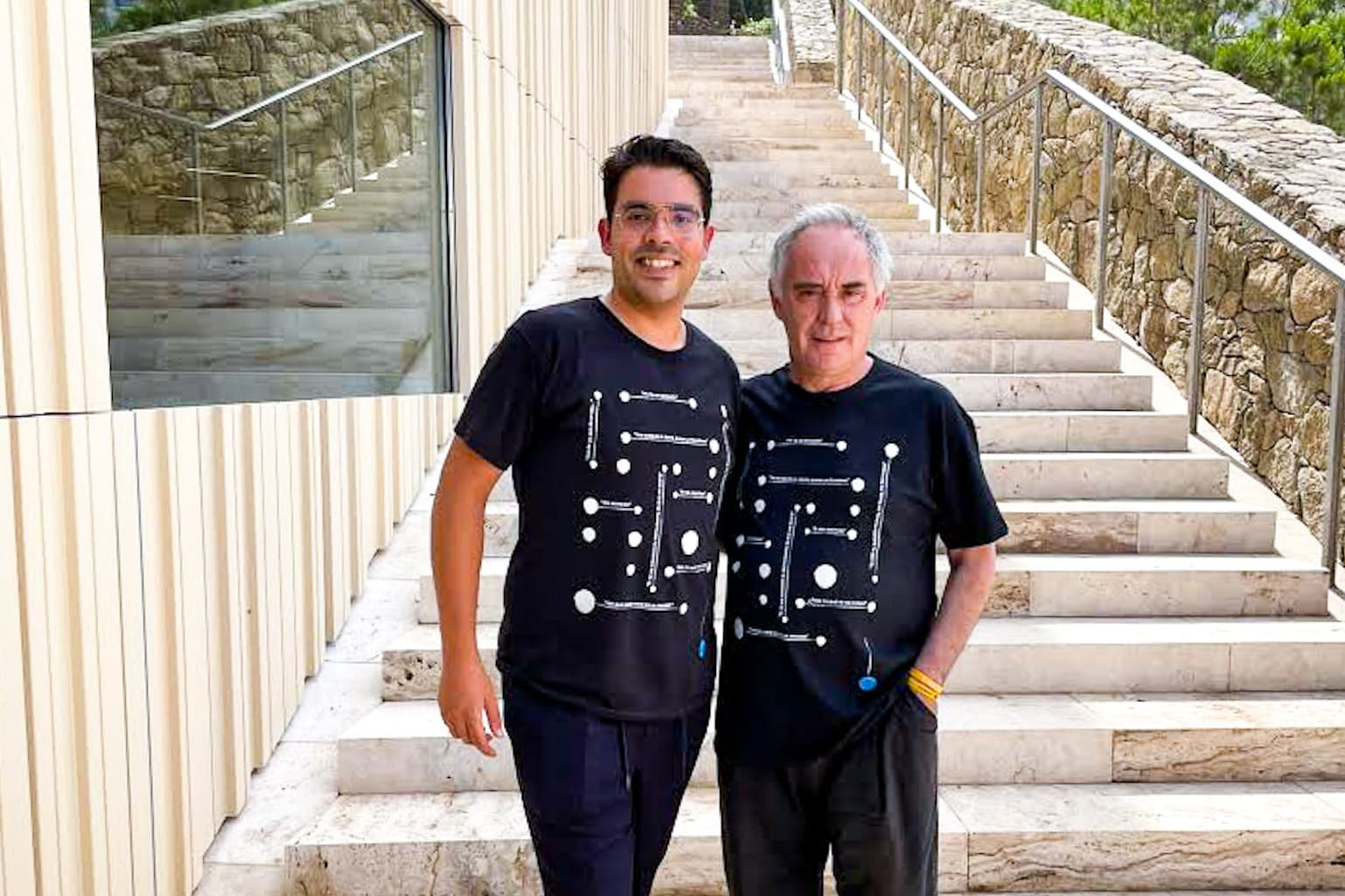 Christian Domínguez y Ferran Adrià