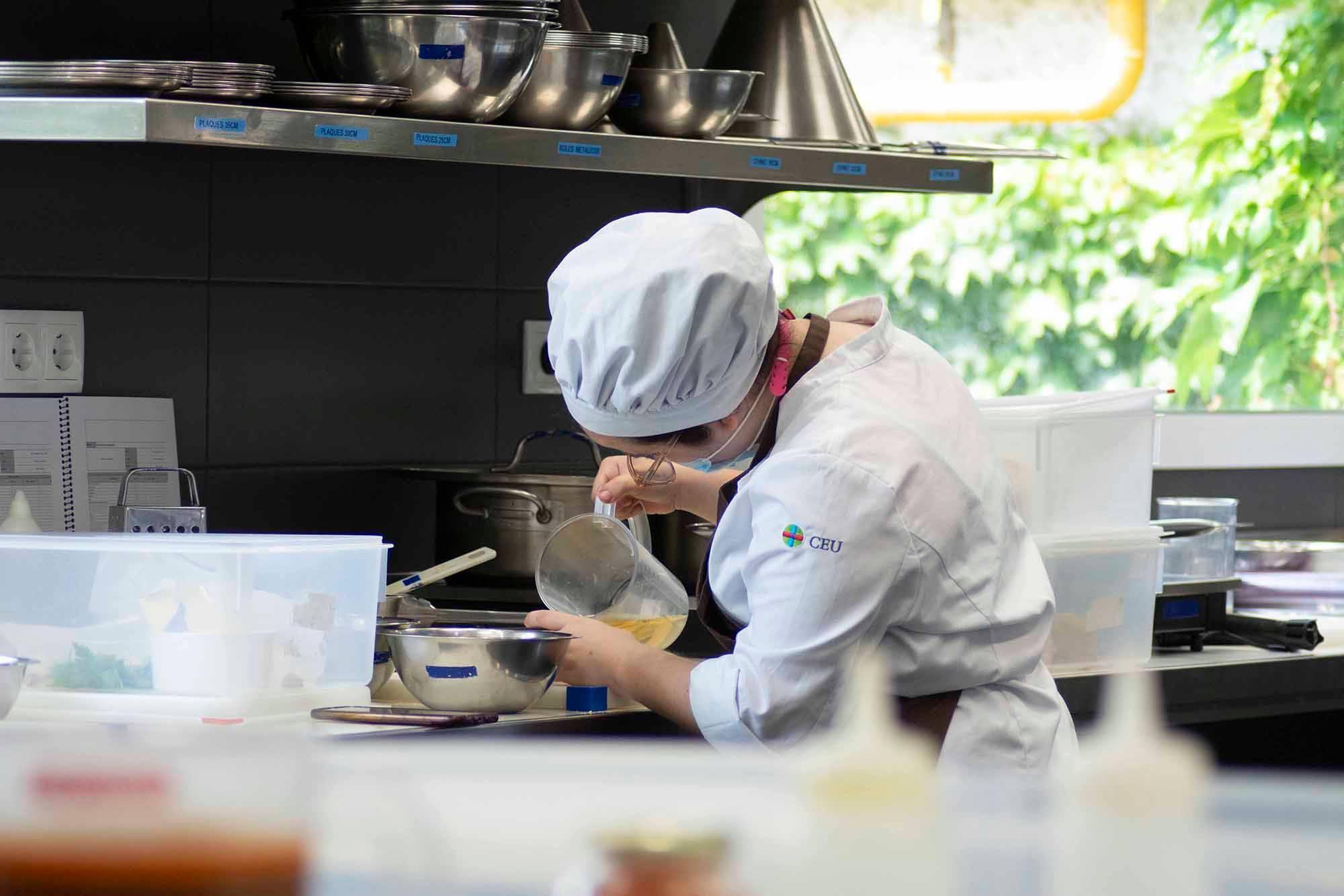 Grado en Gastronomía: Las técnicas de cocina que veremos este curso